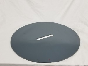 "14 inch pull plate 300x223 - Swab Plate - 14"" Pull Plate (sizing plate) for 10"" pull bar *PDP831"