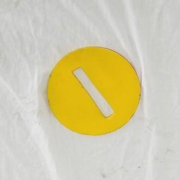 Swab Plate – 6″ Pull Plate (sizing plate) for 4″ Pull Bar *PDP827